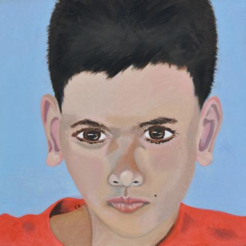 """Oliver"" - oil on canvas - SOLD"