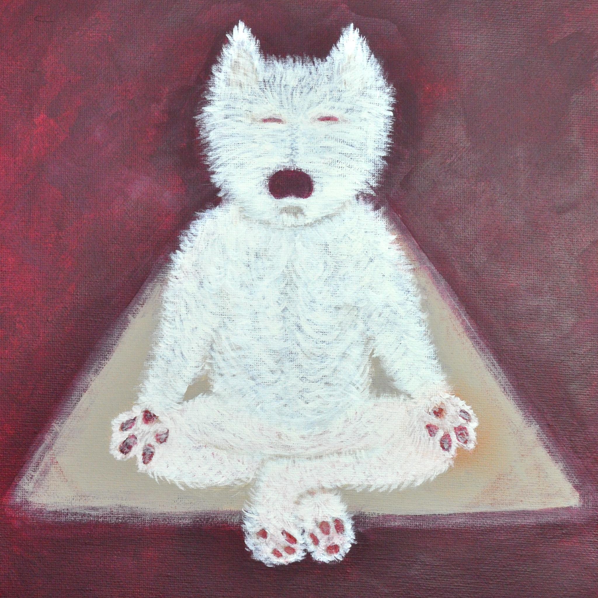 """Breath"" - acrylic on canvas - SOLD"